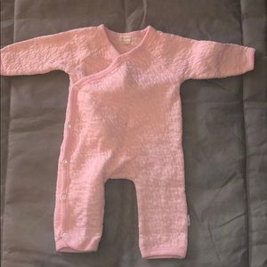 Burt's bees baby quilted kimono coverall